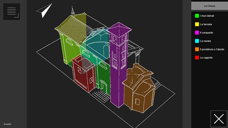 Pixeloose studio chiesa della purificazione progetto di valorizzazione culturale - Elementi architettonici di una chiesa ...